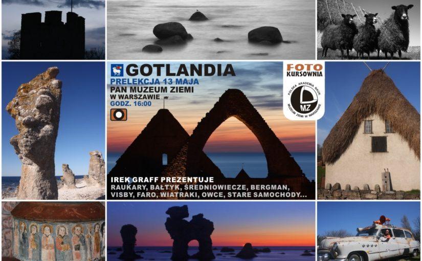 Prelekcja o Gotlandii w Muzeum Ziemi 13.05