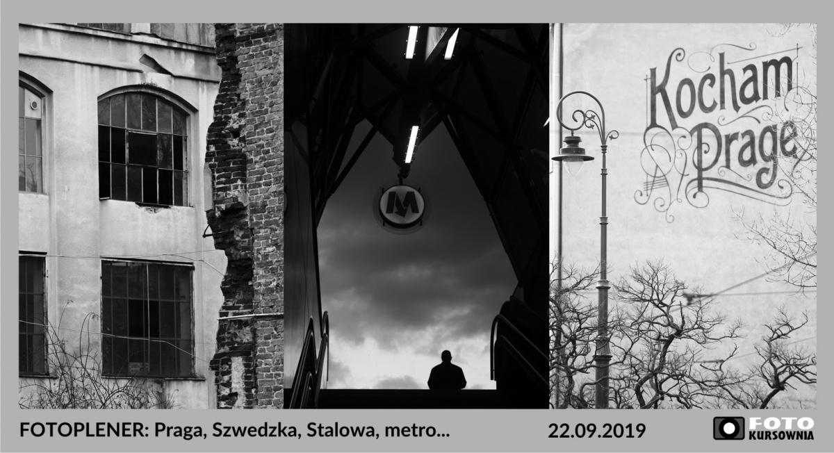 Fotoplener: Praga, Szwedzka/Stalowa, metro – 22.09